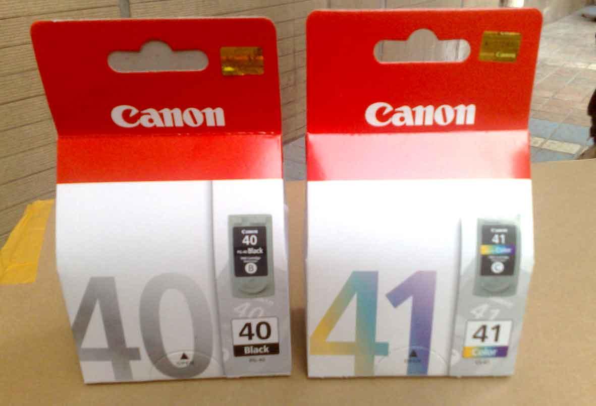 Tinta Canon 40 ( Black) Rp. 158.000